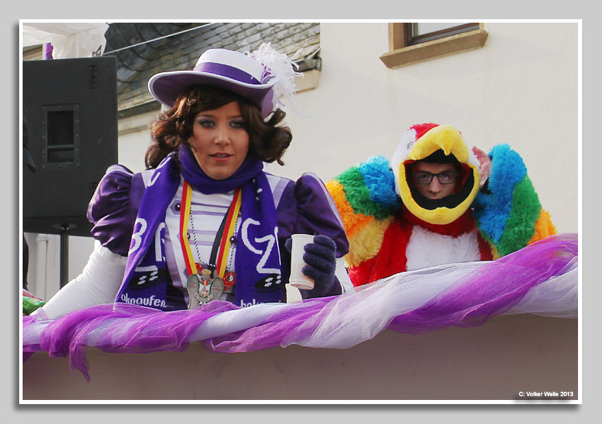 Fasching in Zewen 2013