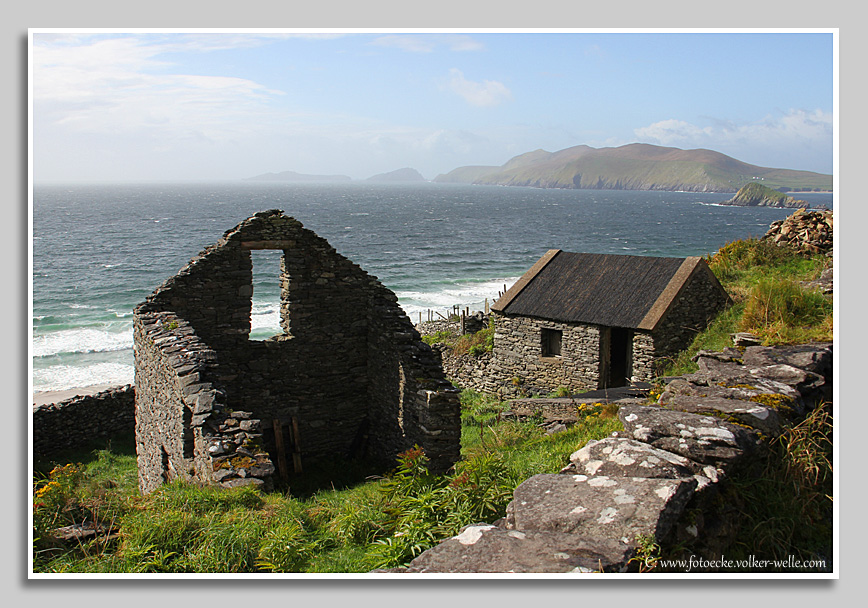 Coumeenoole Bay, Dingle Peninsula, County Kerry, Irland